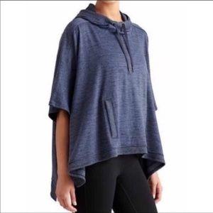 Athleta Blissful Hooded Poncho Size S